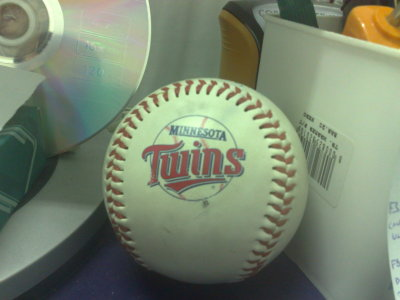 pallina minnesota twins